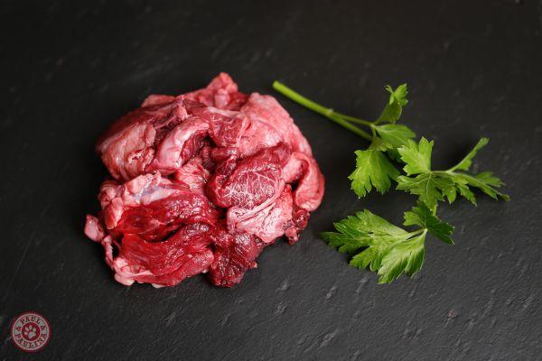 Rindfleisch durchwachsen am Stück